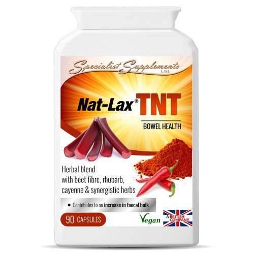 Specialist Supplements Nat-Lax TNT 90 Kappenules -