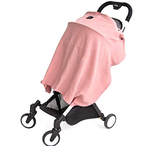Naisicatar Carseat Canopy Abdeckung Baby-Autositz Canopy Nursing Stillen zudeckt Baby Car Seat Überdachungen für Jungen Kinderwagen Einkaufswagen Abdeckungen Abdeckung Rosa Nizza Geschenk