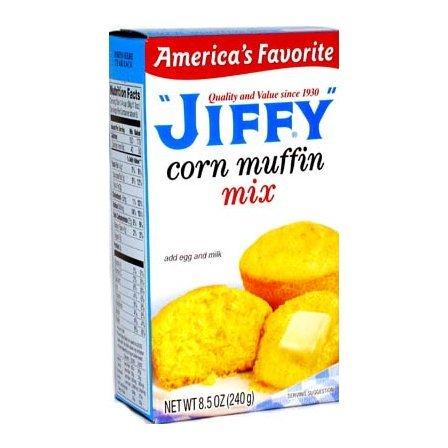 Jiffy Corn Muffin Mix 8.5 OZ (240g) [24