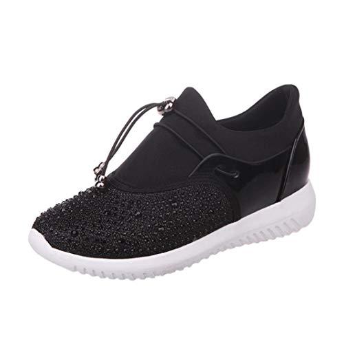 d50df2f2 WWricotta LuckyGirls Zapatillas de Correr Hombre Mujer Unisex Malla  Patchwork Casual Cómodas Calzado Deportivo Zapatos Planos