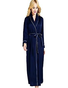 (no brand) primavera e l' estate sottile seta Lady vestaglia di seta confortevole casa vestito sexy glamour pigiama...