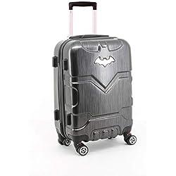 Karactermania Batman Batsignal Equipaje de Mano, 54 cm, 35.5 litros, Negro