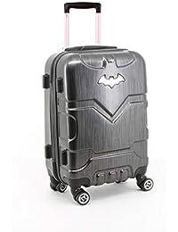Batman Batsignal-ABS Trolley-Koffer (Klein) Bagage Cabine, 35.5 liters, Noir