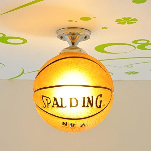 Huahua @ salle lampe d'éclairage de la chambre de lumière garçon de basket-ball lampe de plafond de football de bande dessinée de lumière de plafond enfants -LED lampe fille