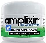 Amplixin Masque capillaire hydratant - Traitement revitalisant en profondeur à la noix de coco et à l'huile d'argan - Pour hommes et femmes aux cheveux secs et abîmés, 250 ml