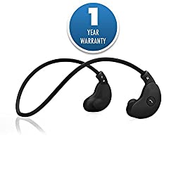 ACID EYE LH-MOON wireless bluetooth headphone(neckband) for all device -Black
