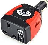 BESTEK 150W Watt DC 12V To AC 230V Car Power Inverter Power Adapter Auto charger Power Supply