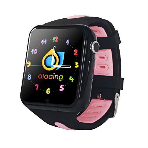 GYFKK Intelligente Uhr Smartwatch Stand-Alone-Karte Anruf GPS Positionierung 1,54 Zoll Touchscreen Wasserdicht Unterstützung Multi-chinesische Wörter Mehrländer Schwarzpulver