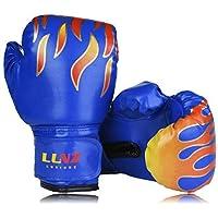 Luniuqz Guantes de Boxeo para Niños de 3-10 Años, Guante de Entrenamiento 4oz 6oz para MMA, Muay Thai,Kickboxing
