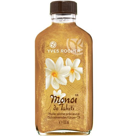 Yves Rocher - Monoï des Tahiti (100 ml): Schimmerndes Körper-Öl mit dem einzigartigen Duft der