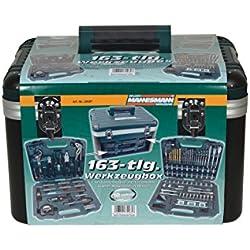 Brüder Mannesmann Werkzeugbox, 163-teilig, M29087