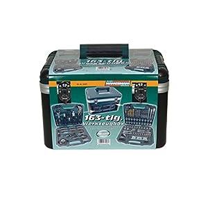Brüder mannesmann werkzeuge M29087 – Caja de herramientas, 163 piezas