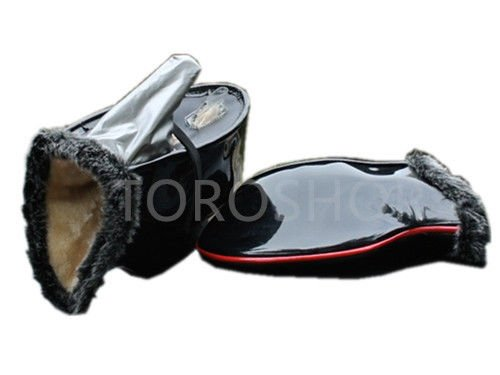 Waterproof Handlebar Warmer Winter Motorcycle Scooter Bike Gloves Material Hand Muffs