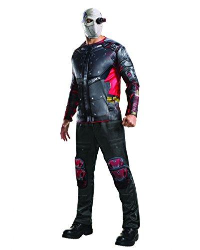 Deadshot Kostüm Deluxe für Fasching & Halloween (Deadshot Halloween Kostüm)