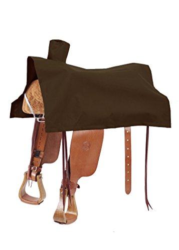 Colorado-Saddlery 14-183br Basic Sattelschoner Western, braun