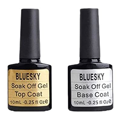 Bluesky Top and Base Coat Nail Gel 10 ml by Bluesky