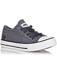 MTNG Zapatillas lonas gris oscuro nº31