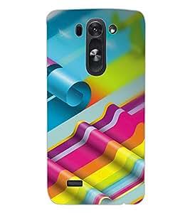 ColourCraft Pattern Design Back Case Cover for LG D722 K