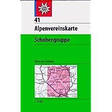 Schobergruppe: Wege und Skitouren - Topographische Karte 1:25.000 (Alpenvereinskarten)