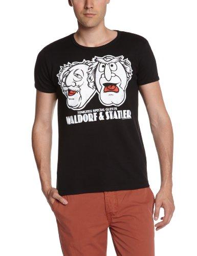 Logoshirt Unisex T-Shirts   - Black - M (Herstellergröße: ()