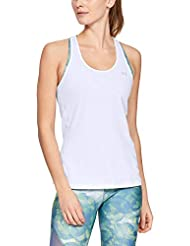 Under Armour HeatGear Racer Tank Sleek Women's Sleeveless T-Shirt with Graphic Design