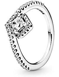 Pandora Ring Wishbone Sterling Silver Ring Size 56