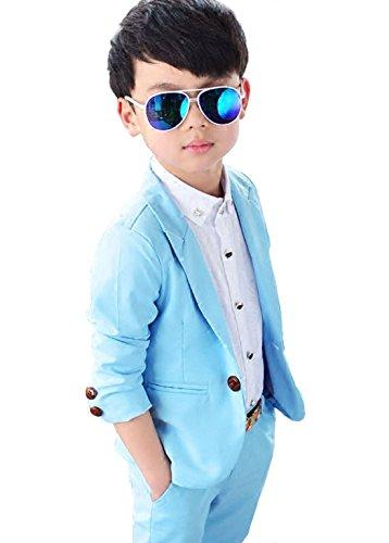 Trajes De Ceremonia Para Niños Graduación Traje Niño Traje De Boda Blazer+ Pantalones Largos Traje de chicos Boys Suit Boys