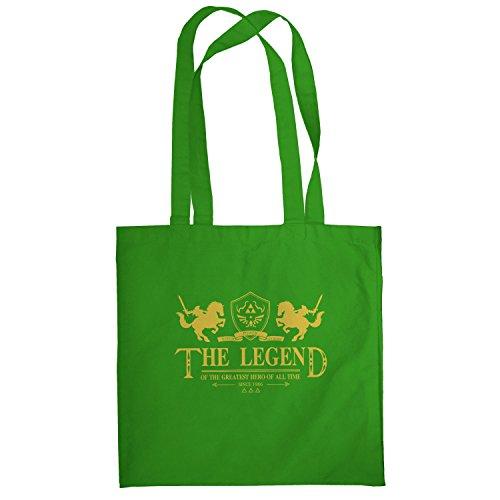 Texlab–The Legend–sacchetto di stoffa Verde