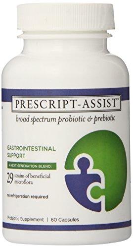 Prescript-Assist Broad Spectrum Probiotic Prebiotic Complex 60 Capsules