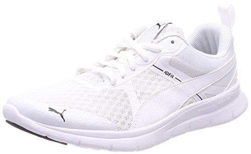 Puma Unisex-Erwachsene Flex Essential Sneaker, Weiß White, 45 EU