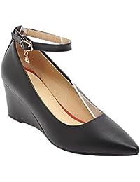 Suchergebnis auf für: keilpumps schwarz: Schuhe