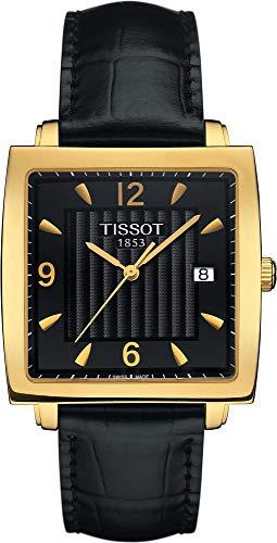 Tissot Sculpture Line 18 KT T71.3.623.54 Reloj de Pulsera para Hombres