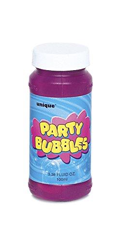 Nachfüll Seifenblasenflüssigkeit für Kindergeburtstage Party Bubbles 1 x 118 ml (0,58 Eur / 100 ml) -