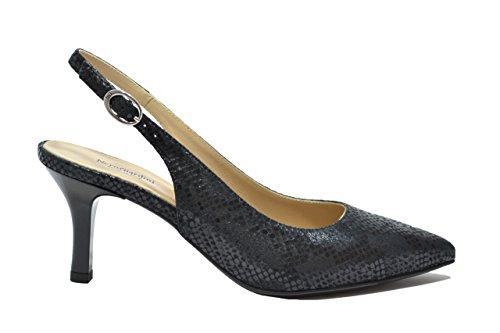 Nero Giardini Decollete' scarpe donna nero 7432 elegante P717432DE 38