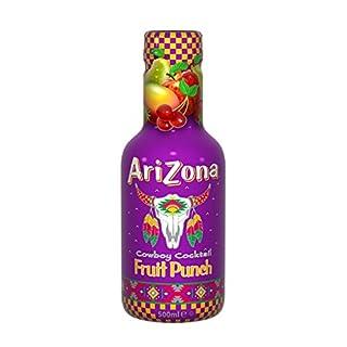Arizona Original Iced Tea Bottle 500ml - Fruit Punch (Pack of 6)