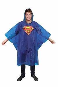 Paladone- Superman Chubasquero Hombre, Multicolor, Talla única (PP2624DC)