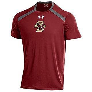 Under Armour Vented NCAA Men's Threadborne Short Sleeve Tech Tee, Cardinal, XX-Large