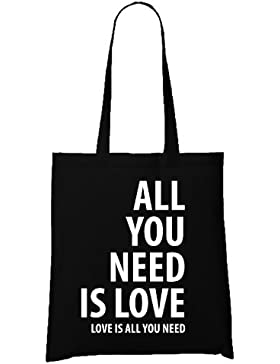All you Need is Love Bag Black