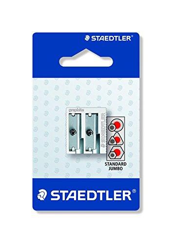 STAEDTLER 510 20 BKD – Afilalápices doble, 1 unidad