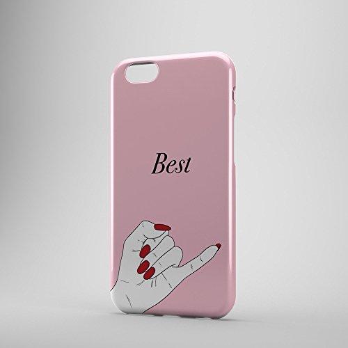 IQCases EG-Mädchen-Bester Freund-Zitat BFF 1 Paar-Telefon-Kasten-Abdeckung für Apple iPhone 6S