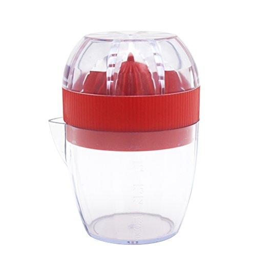Squeezer Orangensaft-hand (bestonzon Kunststoff Manuelle Zitruspresse Presse Tasse Limes Hand Manuelle Obst Gemüse Tools Küche Gadgets Werkzeug (zufällige Farbe))