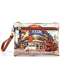 9c5db3fa57 YNOT? L-342 Yes Bag Pochette Donna Princess In London TU