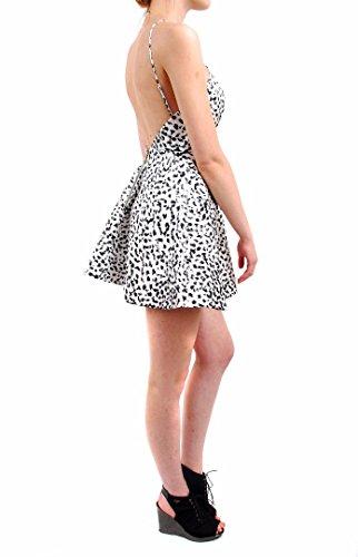 Keepsake damen-Kreuzungs-Minikleid Short Sleeve Schwarz Weiß Schwarz-Weiss