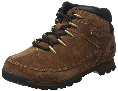 Timberland Euro Sprint Hiker, Baskets Hautes Homme Marrone (Dark Brown)
