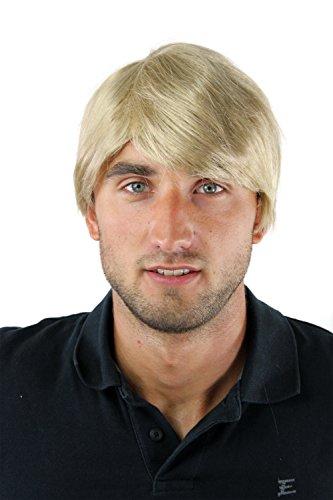 Herrenperücke Perücke Männer Kurz Jugendlich Lässig Modisch Blond GFW-964-24 Wig (Blonde Perücken Für Männer)