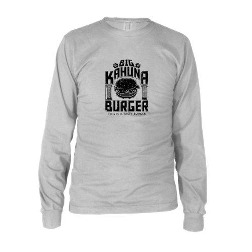 Big Kahuna Burger - Herren Langarm T-Shirt, Größe: XXL, Farbe: weiß