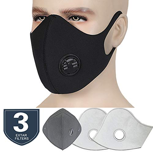 Masque Respiratoires Anti-Poussière Anti-Pollution Adulte...