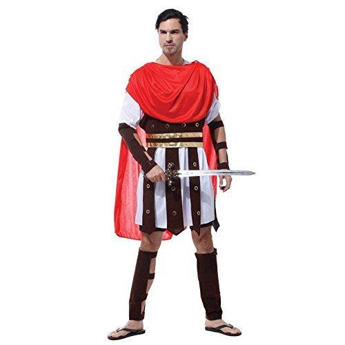 �misch Griechisch Gladiator Krieger King Cäsar Verkleidung Kostüm M L ()