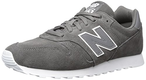 New Balance Herren Sneaker, Grau (Grey), 44.5 EU (10 UK) (Lace Up Tops Vinyl)