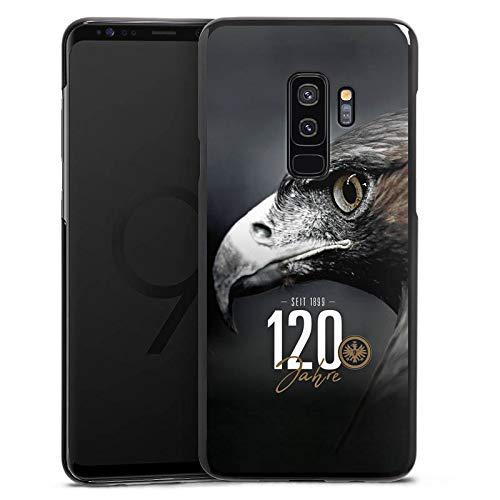 DeinDesign Hülle kompatibel mit Samsung Galaxy S9 Plus Handyhülle Case Eintracht Frankfurt 120 Jahre Adler
